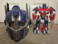 I have 2 Optimus Prime toys from the ultra popular