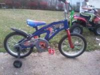 transformers bike hardly ridden in great shape has been