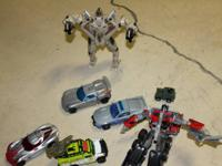 A BUNCH OF TRANSFORMERS...40.00   show contact info
