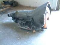 TRANSMISSION CHEVY TURBO 350, SHORT TAIL SHAFT OUT OF A