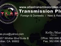 Atlas Transmission PLus.  12357 Whittier blvd