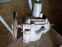 2 OLD TRANSMISSION FOR SALE ONE IS A 1929 CHEVY THE