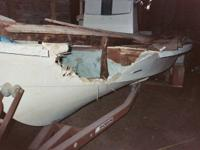 Transom/floorboard replacement / Fiberglass Repair