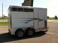 Travalong 2H Slant BP, 2 Horse Slant Demo Trailer, Call