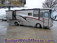 This low mile 2 slide Class A motor home is so easy to