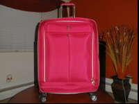 "Travel Pro 25 "" inch Expandable Spinner Upright (Red"