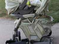 Safety First infant car seat and stroller (colors are