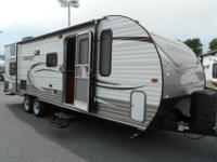 Brand name new 2015 CONQUEST 255BH! This BUNKHOUSE