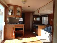 This is a BayRidge 40' , 2 bedroom trailer. Price us
