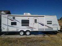 Jayco Jayflight 27' BH trailer.  Trailer was barely