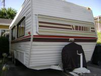 1980  21 feet vacationeer travel trailer