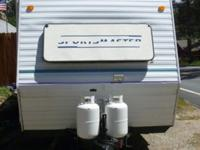 1996 Kit Sports Master 195T Travel Trailer. The dry