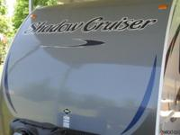 2013 Shadow Cruiser Model S195WBS. 22' New in Feb 2013.