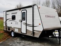 2015 Gulf Stream Conquest Lite Super Lite 198RBFor that
