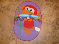 I am selling a travel monkey baby gym that is in