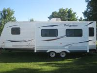 I rent 5 pull behind travel trailers for camping. they