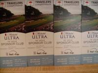 Michelob 19th Hole Sponsor Club Tickets ONLY $40 Each