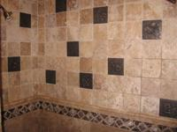 TRAVERTINE LISTELLOS  DECO- TUMBLED STONE BLOW OUT