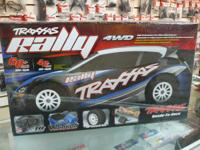 Traxxas 1/10 Rally Brushless 4WD TQi 2.4 GHz RTR w /