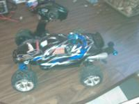 new traxxas jato 3.3 nitro fresh broke in less than 3/4
