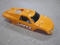 TRAXXAS JATO HARD PLASTIC BODY. IT WAS CLEAR I HAD IT