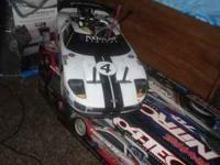 iv got a 1/8 traxxas 4 tec 4x4 70+mph with a new 2.5