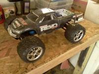 I have a traxxas revo 3.3 it has brand new back tires