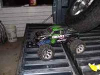 I have a revo 3.3 4x4 gas powered remote controlled