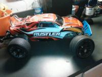 for sale I have a traxxas rustler, runs good, simply