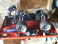 I have a traxxas s maxx for sale with alot of extra