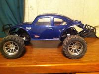 Traxxas slash 2 wheel drive  Brushles 2 sets of tires