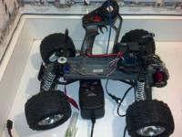 traxxas stampede 2wd for sale. has brushless setup (100