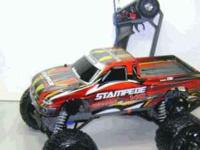 Up for sale is a adult owned RTR Traxxas Stampede VXL