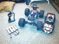 like new traxxas summit electric model. Got for xmas