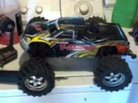 I have a traxxax t-maxx with a 3.3 2 speed that runs