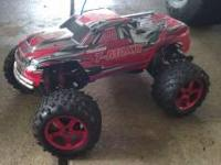 I have a traxxas t maxx 3.3 for sale. The reason that i