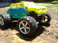 Available is a Traxxas T-Maxx 4x4 with a 3.3 engine.