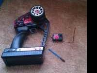 I have a stock traxxas 2.4 radio and 2 receivers works