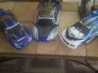 I am selling 2 Traxxas Nitro 4 TECS for 400.00 or best
