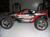 I have a traxxas nitro rustler with a 3.3 engine on it.