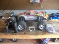 traxxas s-maxx with 3.3 2 speed has RPM front shock