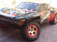 I have a Traxxas Slash 2x4 in near new condition for