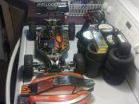 Im saleing a custom Traxxas Slash 4x4 converted to a
