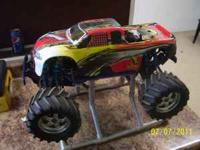 I have for sale a TMAXX NITRO truck . Truck runs and
