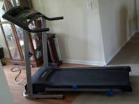Weslo Treadmill, Candence G-40. Used one year, kept