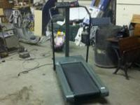 nice tread mill in good shape. we can arrange for