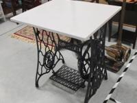 Treadle Sewing Piece of equipment Base Table, Stitching