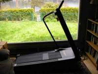 Lifestyler treadmill, flat or inclined, up to 8 mph,