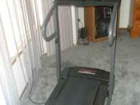 Treadmill hardly used, in great condition, for $150 or
