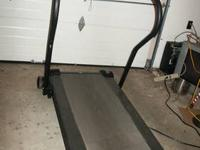 1. Athlon IQ3 Treadmill in Excellent Condition.
